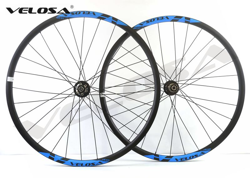 1330g super light 27 5inch 650b MTB XC hookless carbon wheels 27 5 velosa MC3 0