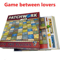 Hot Patchwork Board Game For Two Players Funny Party Games Paper Cards Chinese English Version