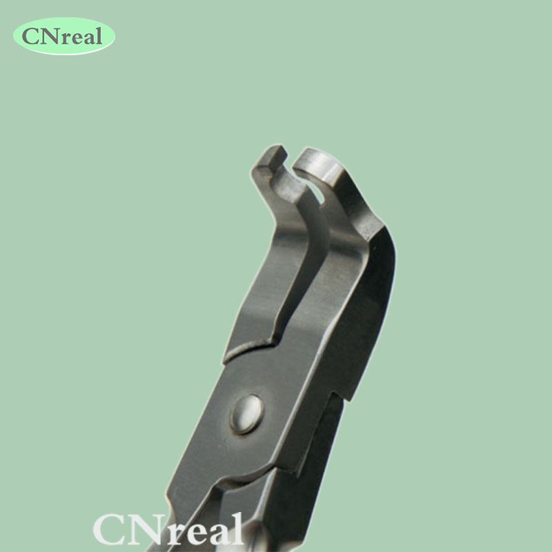 1 pc Dental Angulated Bracket Removing Forceps Pliers for Posterior Brackets Superior Orthodontic Instrument dental orthodontic bracket removing forceps pliers tooth type stainless steel for dentistry lab