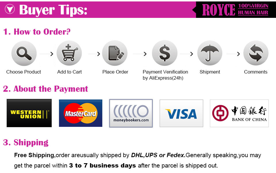 12 how to order and payment