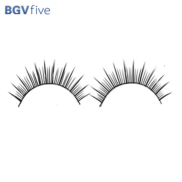 Beautiful Synthetic Fibre Reusable False Eyelashes Fake Eye Lash For