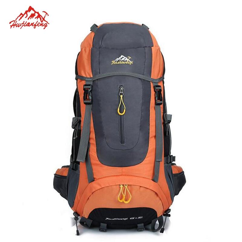 65+5L Pro Men's Outdoor Sport Bag Large capacity Shoulders Backpack Waterproof Camping Hiking Mochila Trekking Bag Backpack Male