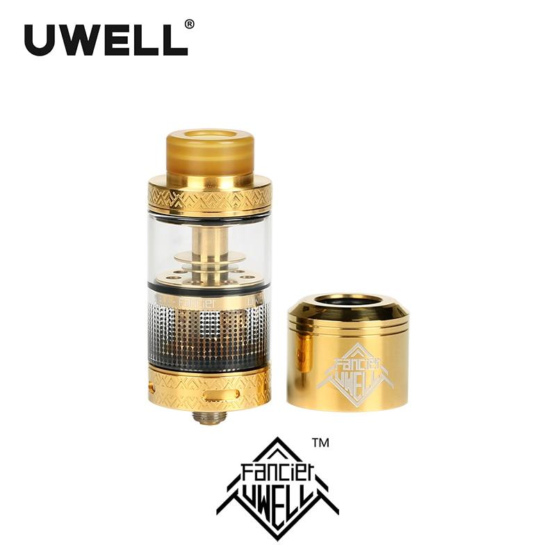 En stock!!! UWELL FANCIER atomiseur 4 ml réservoir RTA & RDA 6 couleurs Cigarette électronique Plug-pull bobines Vape réservoir - 3