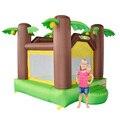 Yard dhl frete grátis mini bouncer inflável bouncy jumper selva quarto uso doméstico para crianças