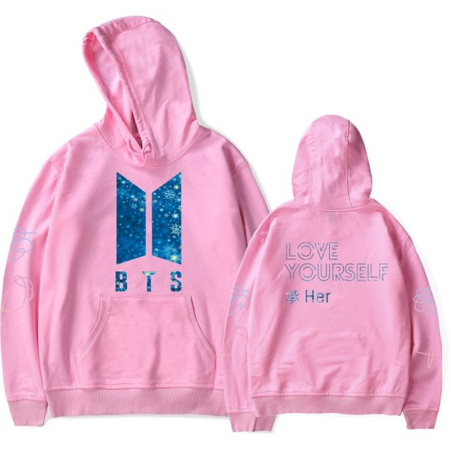 BTS Love Yourself Hoodie (6 types)