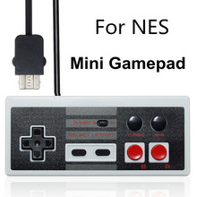 New For NES Classic Mini Edition Turbo Wired 1.8m Retro Gaming Controller Gamepad For Nintendo For Mini NES For Wii Game Pad