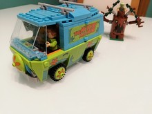 305pcs The Mystery Machine Bus Bela Scooby Doo Series Building Blocks Compatible With Legoingly 75902 Bricks Toys For Children
