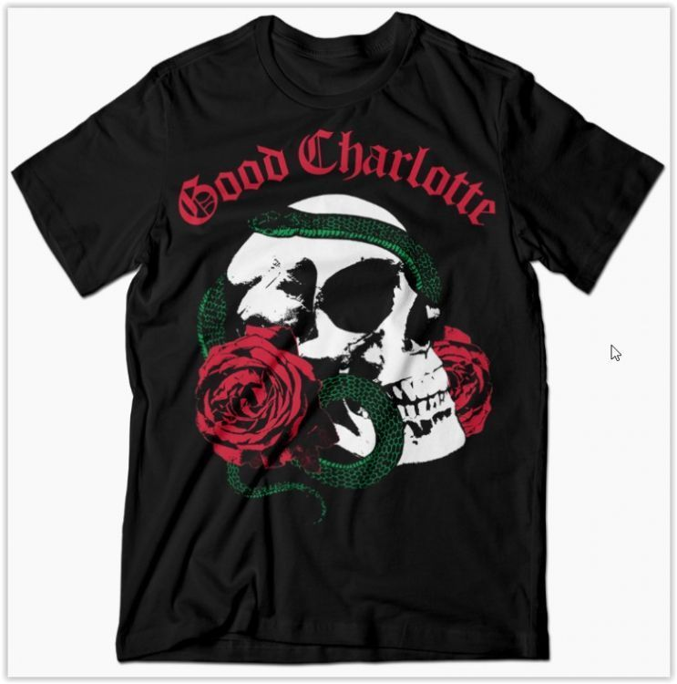 Amazon.com: good charlotte t shirts: Clothing, Shoes & Jewelry