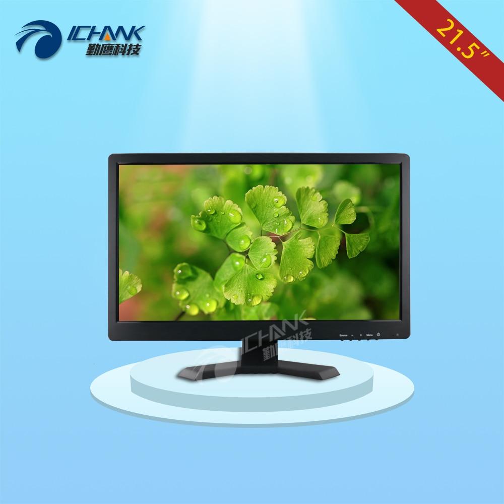 ZB215JN V59/21.5 inch 1920x1080p 16:9 BNC HDMI VGA LCD Monitor Building Automation Pluggable U Disc Player Advertising Machine