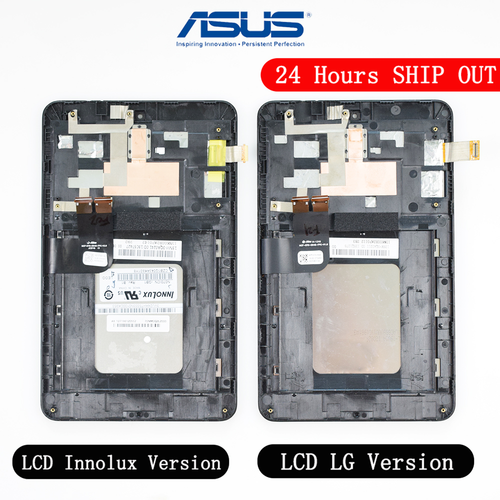 N070ICN -GB1 And LD070WX4-SM01 LCD Display Touch Screen Digitizer Glass Assembly For Asus MemoPad HD7 ME173 ME173X K00B Display