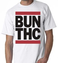 THC KFC Sanders Pot Joint Bong Weed Graphic Shirt T The New Short Sleeve T-Shirt Funny Print  Game Top Tee