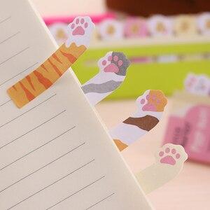 Мини-блокнот с милыми мультяшными животными, пандой, кошкой, блокнот с липкими нотами, канцелярские принадлежности, школьные принадлежности, бумажные стикеры для нот