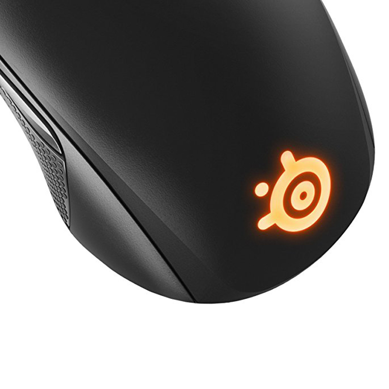Brand New Steelseries Rival 100 gaming mouse RGB Backlight non-slip design 4000CPI For LOL PUBG - Black 3
