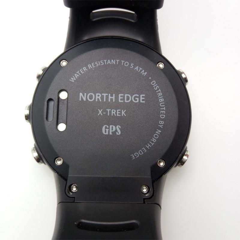 Северная edge 2017 высокое качество GPS часы Открытый Путешествия Спорт Для мужчин Часы Run Калорий Цифровые Часы Одежда заплыва Relogio Masculino