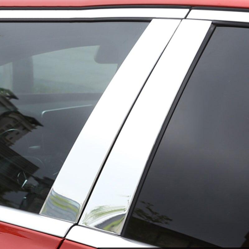 FITS BMW 7-SERIES 2009-2015 PIANO GLOSSY BLACK PILLAR POSTS 6PCS