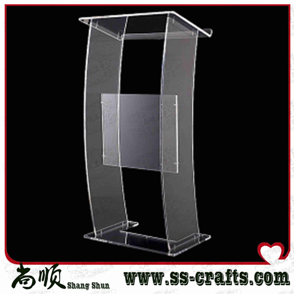 NEW Design Office Reception Desk Table For Big Space Office  Multimedia Teaching Acrylic Lectern Podium Welcome Reception Desk
