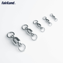 Up to 200KG/ 440Lb Ball Bearing Swivels with Solid Rings Fishing Connectors Hooks for Spoon Lure Pesca Ocean Tackle