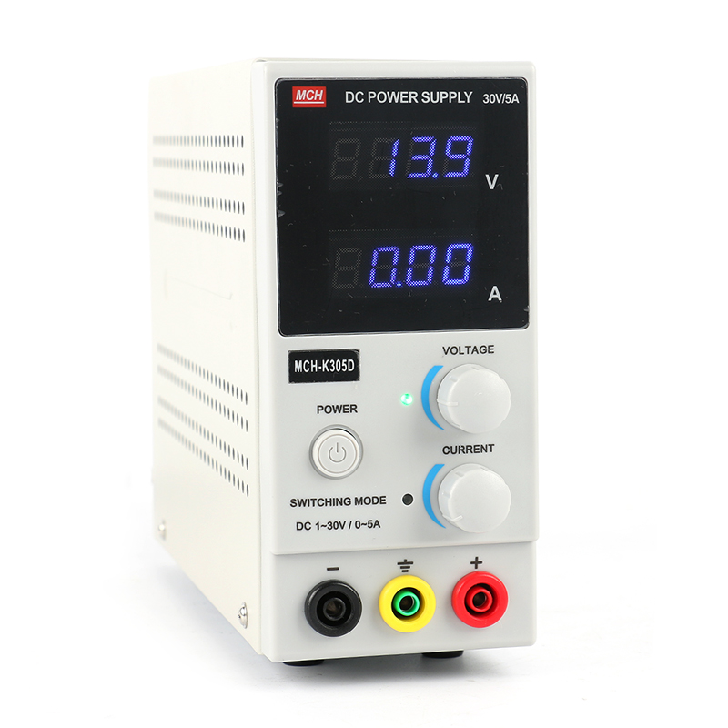 Free Shipping <font><b>MCH</b></font>-<font><b>K305D</b></font> Mini Switching Adjustable Digital DC power supply ,SMPS Single Channel 30V 5A ,220V SMPS Single Channel image