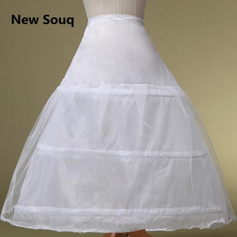3 Layers Ball Gown Wedding Petticoat Crinoline Slip Underskirt Bridal Dress Hoop Vintage Slips Wedding Accessories
