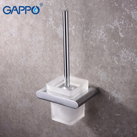 GAPPO Toilet Brush Holders wall mounted bathroom Brush Holders hanger bath hardware accessories storage