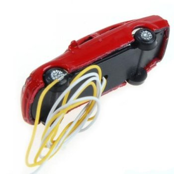 MACH 10 rooms painted light burning car model scale cable w / N (1 - 150) image