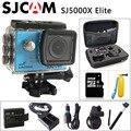 Original sjcam sj5000x elite gyro câmera de ação esporte wi-fi 4 k 24fps 2 K NTK96660 SJ CAM 30fps Mergulho 30 M À Prova D' Água Esportes DV
