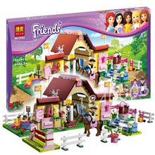 400pcs Bela 10163 Girl friends Series Mia/Katherine minifigures toys Mia's Farm Experience sets toys Compatible with Lego