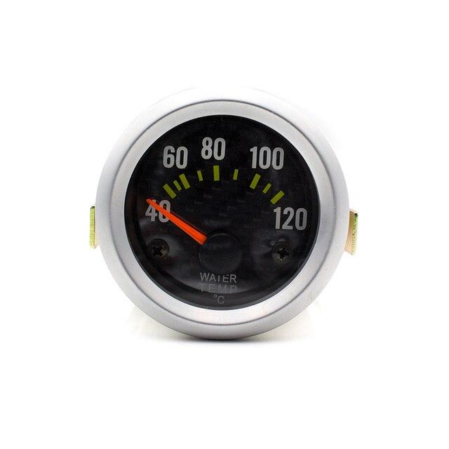 Universal 52mm Medidor de Temperatura Del Agua Del Coche/Auto Gauge Con Sensor YC100034