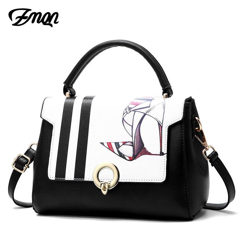 Zmqn сумки на ремне Женский печати Crossbody сумки для Для женщин маленький Сумки для молодых модная одежда для девочек бренд сторона сумка мешок ... ...