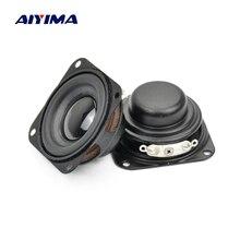 AIYIMA 2 adet Subwoofer 40MM 1.5 inç bas hoparlör 4Ohm 3W neodimyum manyetik bas multimedya hoparlörler Diy hoparlörler