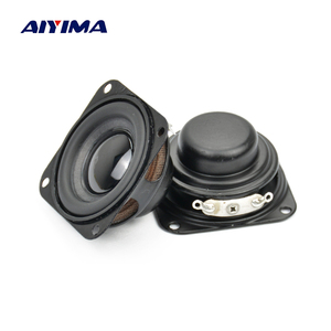 Image 1 - AIYIMA 2Pcs Subwoofer 40MM 1.5Inch Bass Speaker 4Ohm 3W Neodymium Magnetische Bass Multimedia Luidsprekers Diy Audio luidsprekers