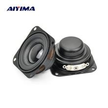 AIYIMA Subwoofer de 40MM y 1,5 pulgadas, altavoz de graves magnético de 4Ohm y 3W, altavoces de Audio Diy, 2 uds.