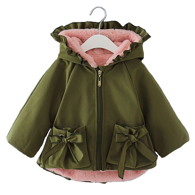 2018 Winter Baby Girls Faux Fur Coat Hooded Kids Warm Coats Princess Parkas Children Fur Coat For Girls Jackets Toddler Fur Coat pearl beading textured faux fur coat