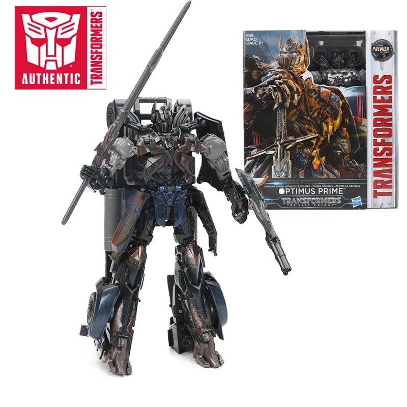 Transformateurs le dernier chevalier ombre étincelle sombre Optimus Prime PVC figurine Collection modèle poupée jouets première édition - 2
