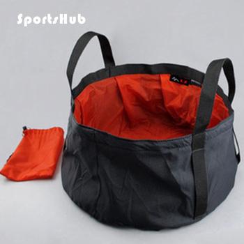 SPORTSHUB ultralekki 7-8 5L survival składany umywalka Camping umywalka sprzęt biwakowy Survival zestawy wojskowe SES0001 tanie i dobre opinie 3 5l 29cm 15cm