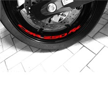 injection for honda cbr250 cbr 250rr 250 rr 140no 18 cbr250rr 90 91 92 93 94 mc22 1990 1991 blue yellow 1992 1993 1994 fairing Motocycle Inner Rim Decals Wheel Reflective Stickers Stripes for HONDA CBR 250RR CBR250RR CBR250 RR