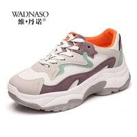 Fashion Sneaker Women Breathable Sport Casual Shoes Woman Bordered Platform Sneakers Walking Tennis Shoes Women trainers XZ15