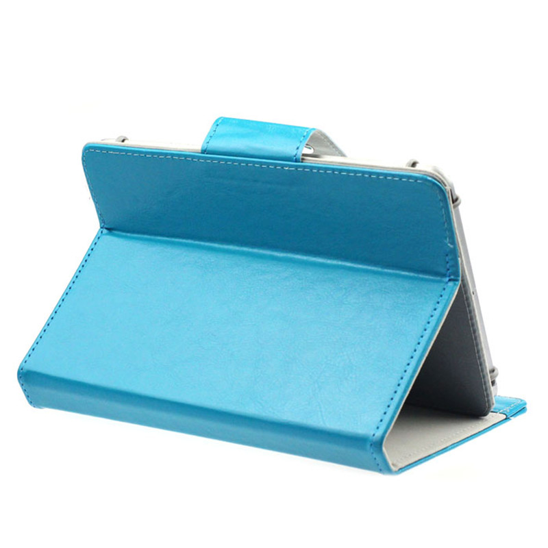 2016 New Universal Crystal PU Leather Stand Cover Case For 9 Inch Tablet PC mar22 universal 61 key bluetooth keyboard w pu leather case for 7 8 tablet pc black