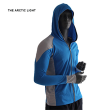 New Shirts Fishing Clothing Breathable Sunscreen Shirt Men Quick Drying UPF 50+ Long Sleeve Hooded Fishing Shirts
