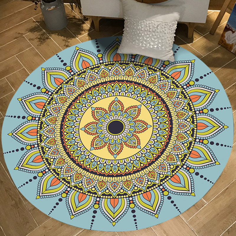 Brilliant Us 6 29 30 Off India Persian Vintage Round Carpet Living Room Bedroom Livingroom Rug Garden Kids Mat Computer Chair Swivel Chair Cushion In Carpet Short Links Chair Design For Home Short Linksinfo