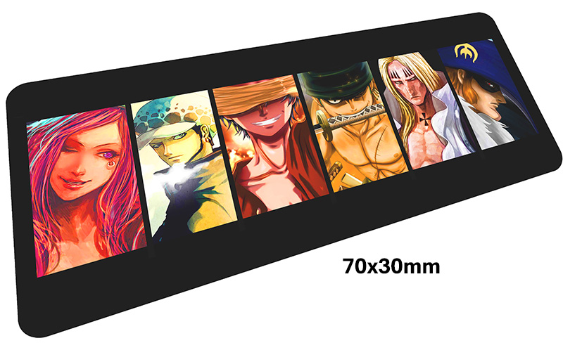 ONE PIECE mousepad gamer 700x300X3MM gaming mouse pad large Personality notebook pc accessories laptop padmouse ergonomic mat