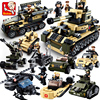 Sluban Model Building Kits Compatible With Lego City Tank 438 3D Blocks Educational Model Building Toys