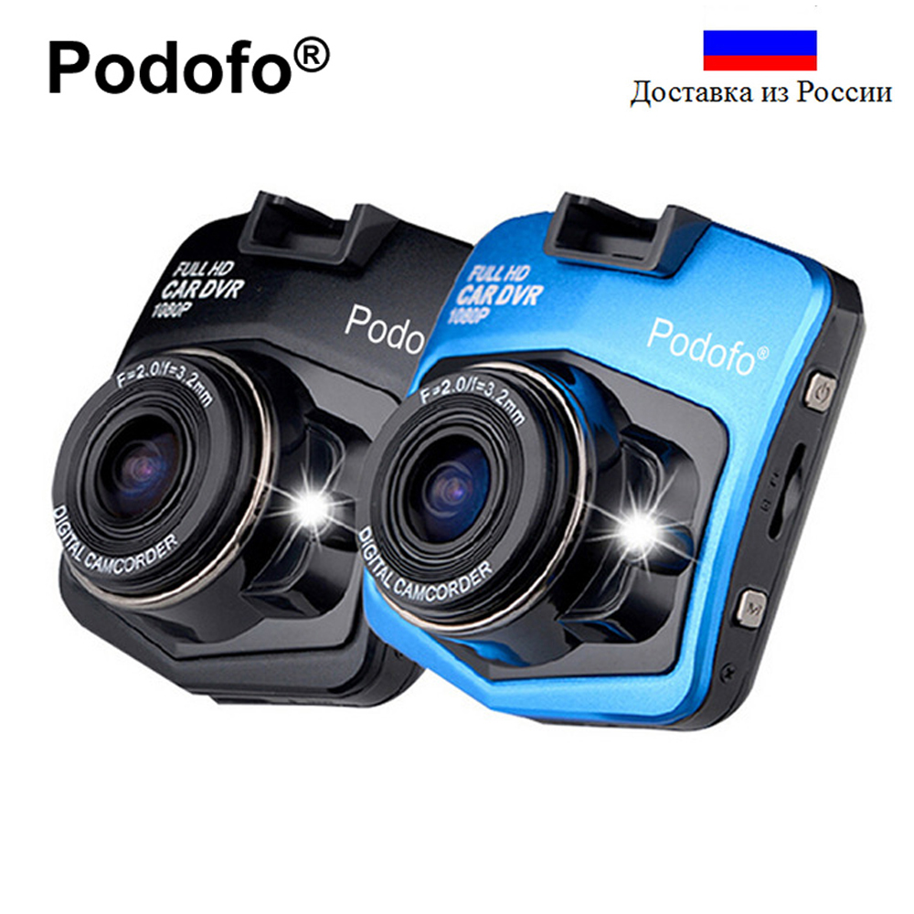 Originale Podofo A1 Mini Car Dvr Camera Dash Cam Full HD 1080 P Registratore Video Registrar Visione Notturna Blackbox Carcam Dash fotocamera