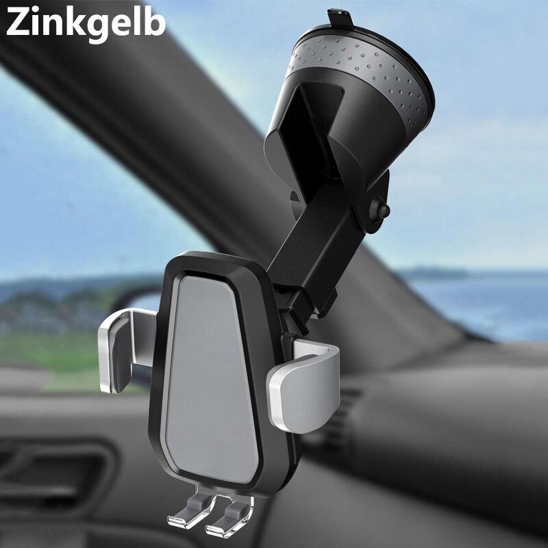 Support de chargeur de voiture sans fil intelligent pince automatique 10 W Qi charge rapide voiture sans fil chargeur de téléphone montage pare-brise tableau de bord