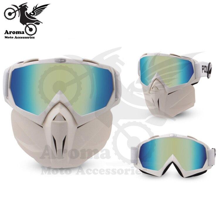 Coloré clair lentille moto rbike protection des yeux moto universelle dirt pit vélo tout-terrain course moto rcycle lunettes moto cross goggle