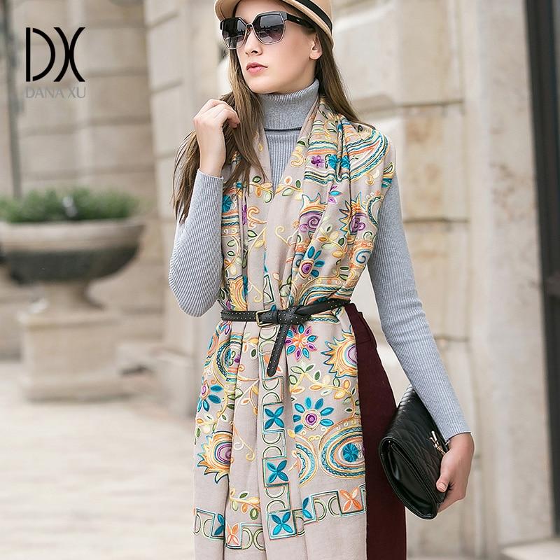 2018 New Luxury Brand Scarf Pashmina Echarp Cashmere Wrap Shawl Winter Ladies Scarves Tassels Large Blanket Cachecol Foulard