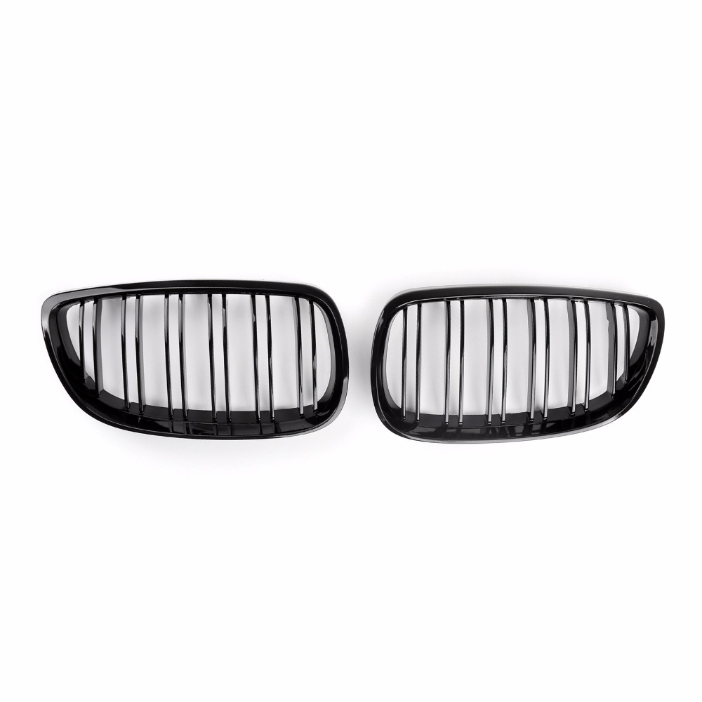 Areyourshop Car Front Kidney Grille Grill For BMW 2007-2010 E92 E93 328i 335i 2Door ABS Plastic Car Styling Part car front bumper mesh grille around trim racing grills 2013 2016 for ford ecosport quality stainless steel