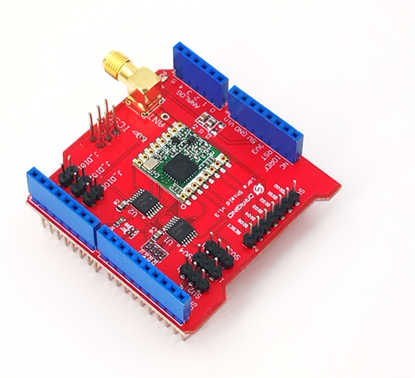 WiMOD Shield for Arduino - Wireless Solutions by IMST
