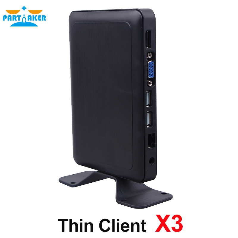 все цены на Partaker Embedded Linux Thin Client X3 with HDMI Unlimited Users Workstation RDP 7.1 онлайн