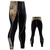 2017 18 camouflage men pants fitness joggers compression tights long pants leggings mens wear jogging